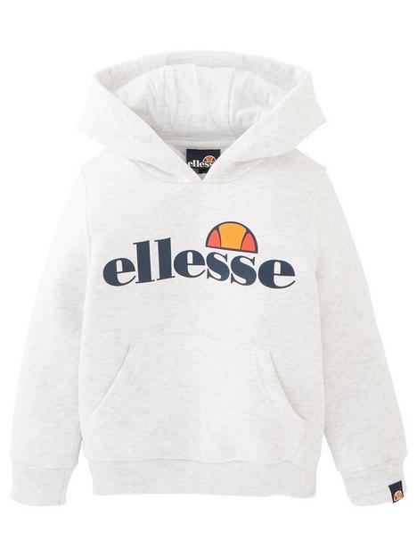 ellesse-younger-girls-core-isobel-overheadnbsphoodie-whitenbsp