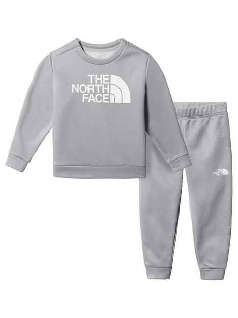 the-north-face-unisex-toddler-sweat-top-amp-joggers-set-grey