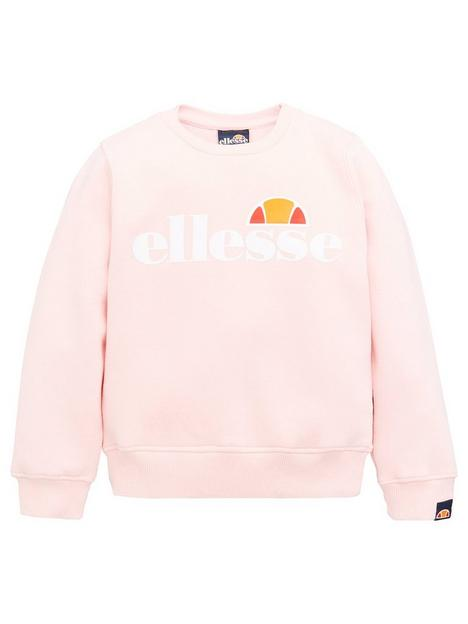 ellesse-younger-girls-core-siobhen-sweatshirt-light-pink