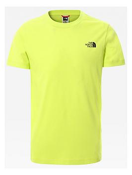 the-north-face-unisex-short-sleeve-simple-dome-t-shirt-green