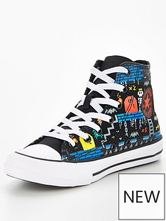 converse-juniornbspchuck-taylor-all-star-gamer-hi-top-plimsolls-black