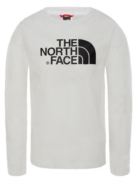 the-north-face-unisex-long-sleeve-easy-t-shirt-white