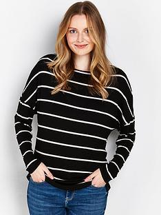 wallis-stripe-knit-tunic