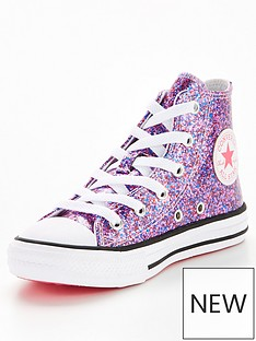 converse-chuck-taylor-all-star-coated-glitter-junior-ox-trainers-pink