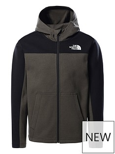 the-north-face-boys-slacker-full-zip-hoodie-green