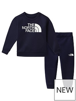 the-north-face-unisex-toddler-sweat-top-amp-joggersnbspset-navy