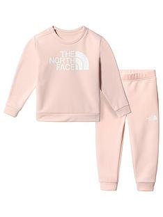 the-north-face-unisex-toddler-sweat-top-amp-joggersnbspset-pink