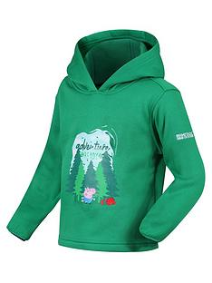 regatta-peppa-pignbsphoodie-green