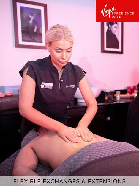 virgin-experience-days-soothing-half-pamper-day-with-deep-tissue-back-massage-for-two-at-bannatyne-health-clubs