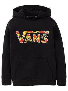 vans-boys-classic-pullover-flame-camo-hoodie-black