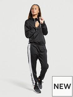 reebok-linear-logo-tracksuit-black