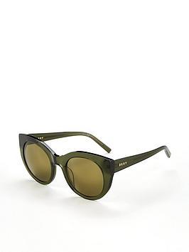dkny-cateye-sunglasses-green