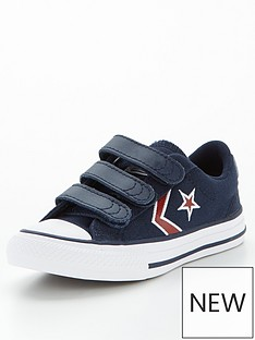 converse-star-player-3-strap-embroidered-childrens-trainers-navy
