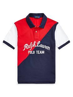 ralph-lauren-boys-colour-block-polo-shirt-red-multi