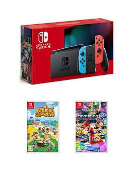 nintendo-switch-nintendo-switch-neon-11-with-animal-crossing-new-horizon-mario-kart-8-deluxe