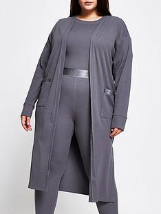 ri-plus-lounge-longline-jersey-cardigan-charcoal