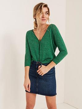 fatface-100-cotton-lightweight-cardigan-green