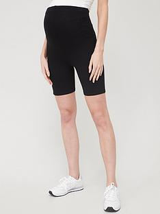 river-island-maternity-cycle-short-black