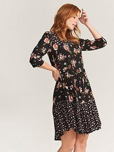 fatface-emilie-spring-bouquet-dress-black