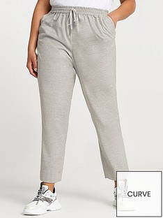ri-plus-flannel-smart-jogger-grey
