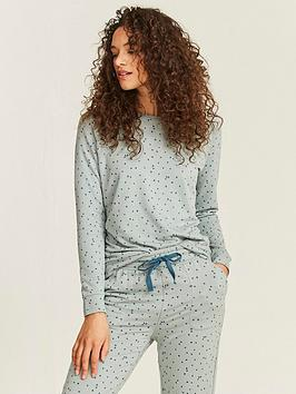 fatface-whitby-soft-printed-pjnbspcrew-top-sage