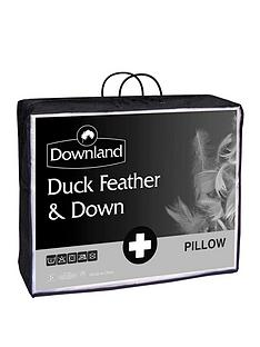 Downland Duck Feather and Down Pillows (2 Pack)