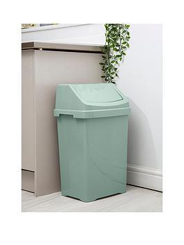 wham-casa-50-litre-swing-bin--nbspgreen