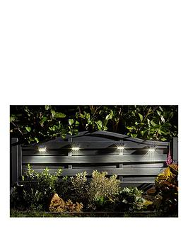 Smart Solar 4 Pack Premier Solar Wall And Fence Panel Lights