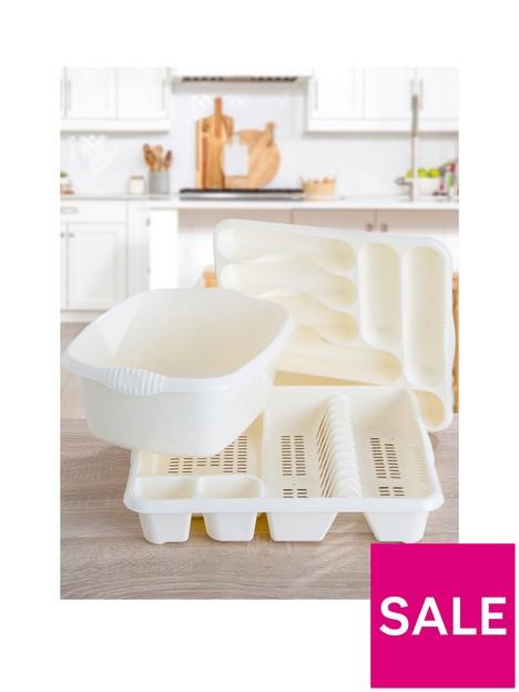 wham-casa-3-piece-kitchen-tidy-set--nbspcream