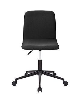 Lark Fabric Office Chair - Black