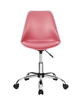 Layla Pink Office Chair