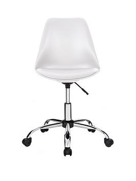 Layla Office Chair - White