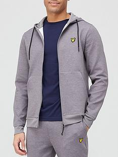 lyle-scott-fitness-full-zip-fly-fleece-hoodie-grey