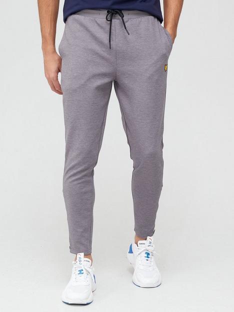 lyle-scott-fitness-fly-fleece-trackies-grey