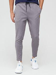 lyle-scott-fitness-fly-fleece-trackies-grey