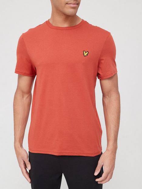 lyle-scott-fitness-martin-t-shirt-orange