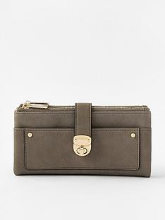 accessorize-freya-push-lock-wallet-grey