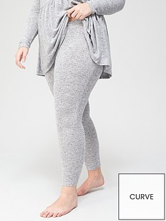 v-by-very-curve-loungewear-soft-touch-legging-grey