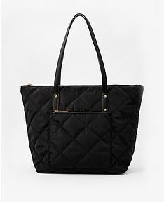 accessorize-tilly-quilted-tote-bag-black