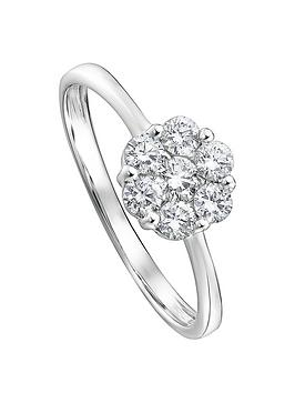 created-brilliance-reese-created-brilliance-9ct-white-gold-046ct-lab-grown-diamond-cluster-ring