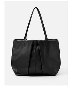 accessorize-savannah-pleated-slouch-shopper-bag-black