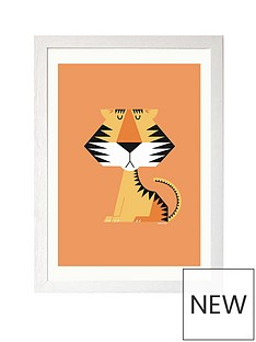 east-end-prints-tiger-by-i-ended-up-here-a3-framed-print