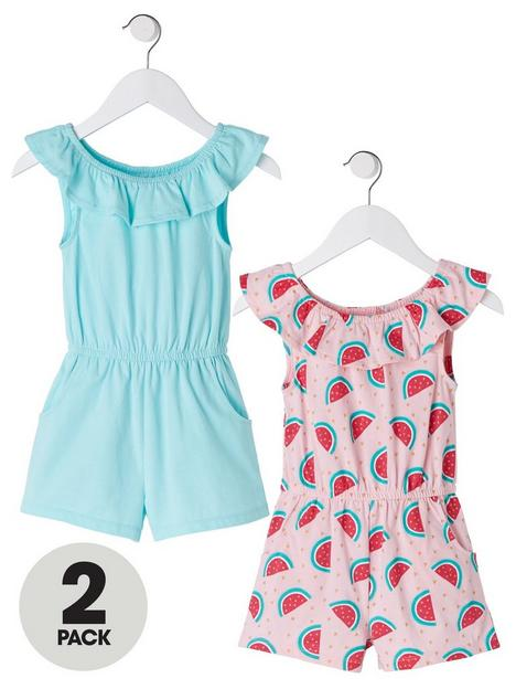 mini-v-by-very-2-pack-watermelon-jersey-playsuit-multi