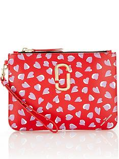 marc-jacobs-heart-print-wristlet-red