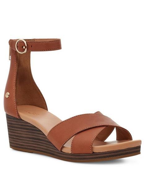ugg-eugenia-wedge-sandal-tan