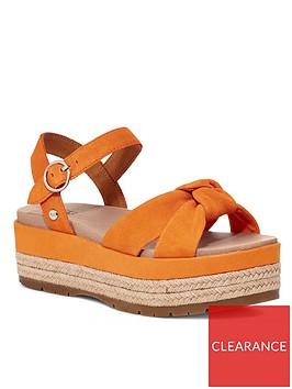 ugg-trisha-wedge-sandal-orange