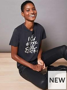 mint-velvet-mint-velvet-grey-foil-rock-slogan-t-shirt