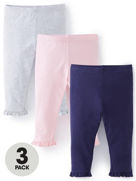 mini-v-by-very-girlsnbsp3-packnbspcropped-leggings-navypinkgrey