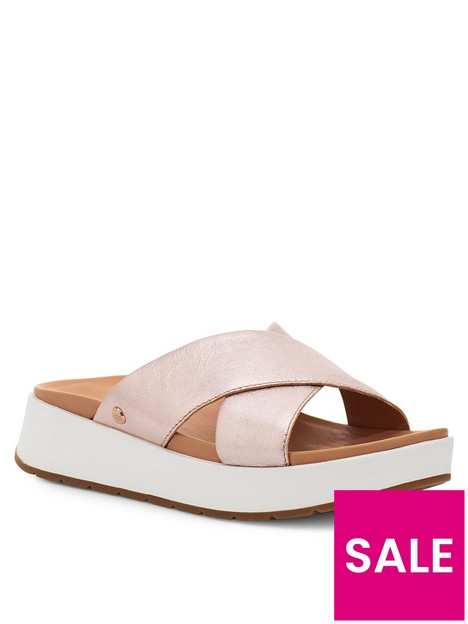 ugg-emily-flat-sandal--nbsprose-gold