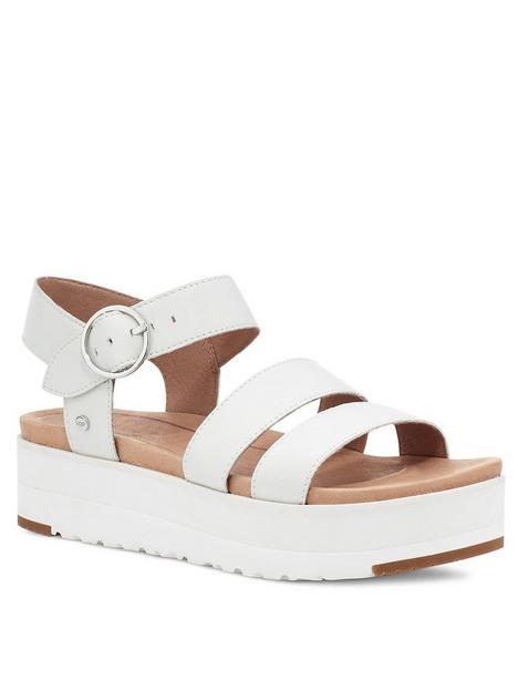 ugg-leedah-wedge-sandal--nbspwhite